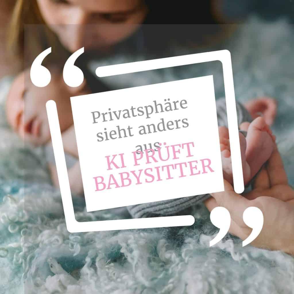 """US-Plattform """"Predictim"""" sucht mittels KI den """"perfekten Babysitter"""": Für Datenschützer ein No-Go"""