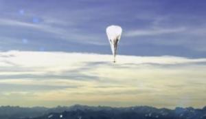 Google Internet Ballons