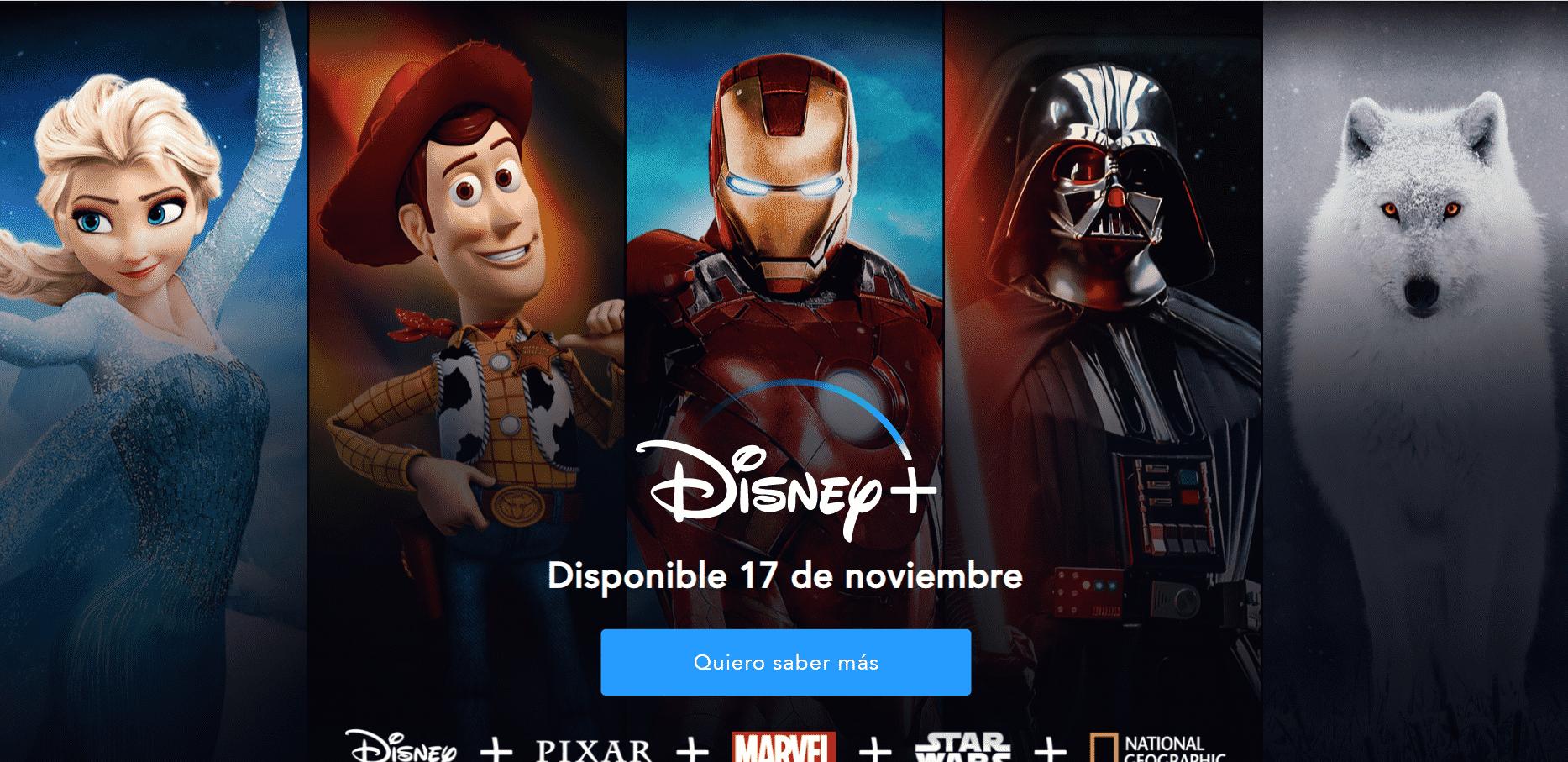 Disney + Spanien